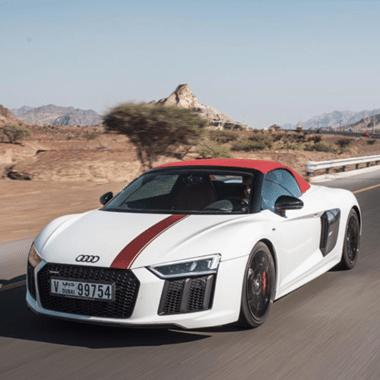 Audi R8 Dubai Rental