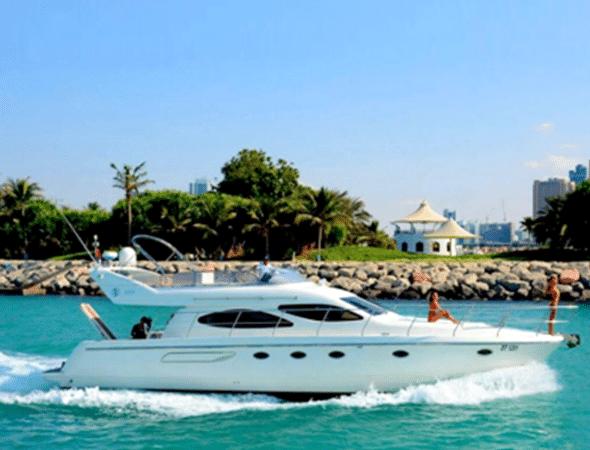 55ft Luxury Yacht Dubai 2