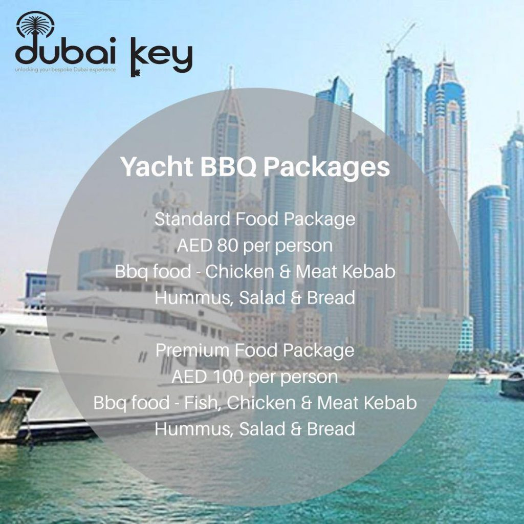 Dubai Key Food Menu